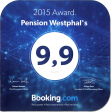 Bewertung Booking.com 2015